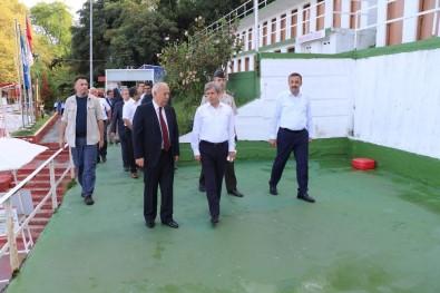 Zonguldak Valisi o  plajı ziyaret etti