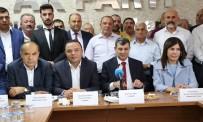 CENGIZ AYDOĞDU - Aksaray AK Parti İl Başkanlığında Devir Teslim Yapıldı