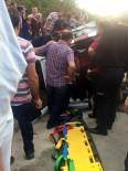 TİCARİ ARAÇ - Alaplı'da Trafik Kazası; 1 Yaralı