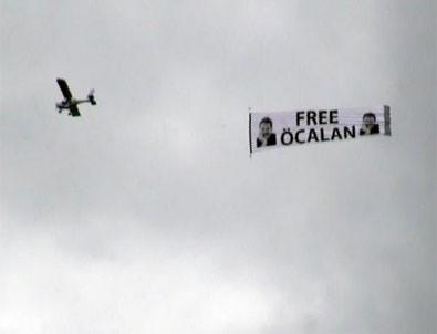 Almanya'da Öcalan propagandası
