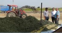 SALUR - Balıkesir Bölge'de Slaj Üretimi Devam Ediyor