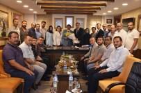 TAAHHÜT - Başkan Çelik, Şehzadeler İlçe Teşkilatını Ağırladı