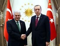 BEYLERBEYI - Cumhurbaşkanı Erdoğan, Başbakan Yıldırım'ı kabul etti