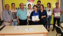 HALK EĞİTİM - Elazığ'da 21 Kursiyere Sertifika Verildi