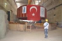 Ilısu Barajı'na 3 Ünite Rotor İndirildi