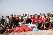 OMURİLİK FELÇLİLERİ - Konyaaltı'nda Uluslararası Kıyı Temizliği