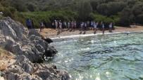 BITEZ - Öğrenciler Kıyıları Baştan Sona Temizledi