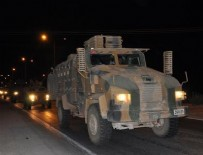 ASKERİ SEVKİYATI - Sınıra askeri araç sevkiyatı