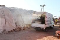 YAŞAM MÜCADELESİ - Suriye'deki Kamplar Dezenfekte Edildi