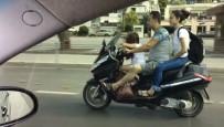 İSTANBUL KARTAL - Ailesinin Hayatını Hiçe Sayan Sürücü Kamerada