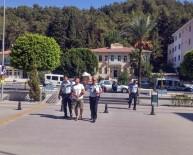 PAZARCI - Antalya İş Makineleri Kundaklandı