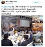 BÜYÜKELÇİLER - Başbakan Yardımcısı Şimşek Açıklaması '74 Ülke Temsilcisine Sesimizi Duyurduk'