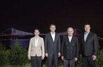 SIRBİSTAN - Başbakan Yıldırım, 3 Ülkenin Başbakanlarıyla Çalışma Yemeğinde Bir Araya Geldi