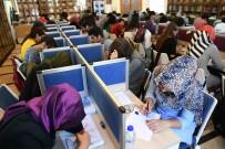 TURGUT ÖZAL - Büyükşehir Belediyesinin Kütüphanelerine Yoğun İlgi