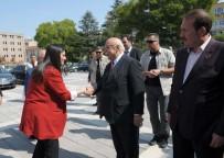 ÇALIŞMA BAKANLIĞI - Çalışma Ve Sosyal Güvenlik Bakanı Jülide Sarıeroğlu Eskişehir'de