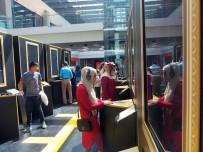 MUSTAFA SANDAL - Görme Engelliler 'Tablolar Konuşuyor' Sergisini Gezdi