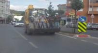 İstanbul'da 'Pes' Dedirten Görüntüler