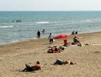 KARADENIZ - Son 49 yılın en sıcak ayı! Karadeniz'de eylülde deniz keyfi