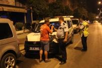 ALKOLLÜ SÜRÜCÜ - Polisler Sürücüyü Alkol, Sürücü Polisleri Sabır Testinden Geçirdi
