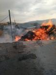 TAHKİKAT - Sarıkamış'ta, 3 Bin Balya Ot Yandı