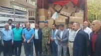 ŞEHİT YAKINI - Siirt'te Şehit Ve Gazi Ailelerine Yardım