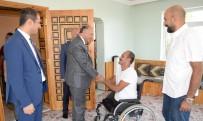 AŞKALE KAYMAKAMI - Vali Azizoğlu Şehit Ailelerini Ve Gazileri Unutmuyor