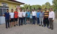 NAZİLLİ BELEDİYESPOR - Yıldızgücüspor Dualar İle Yeni Sezona Başladı