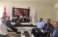 AK Parti Çıldır İlçe Teşkilatından İlçe Milli Eğitim Müdürlüğü'ne Ziyaret