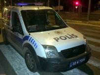 ALKOLLÜ SÜRÜCÜ - Alkollü Sürücü Polis Aracına Çarpıp Kaçtı