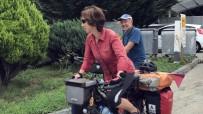 ÇİN - Alman Çift Bisikletle Dünyayı Turluyor