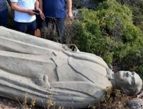 MUSTAFA ÇIFTÇI - Atatürk heykelinin ormana atıldığı iddiası