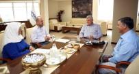 İBRAHIM KARAOSMANOĞLU - Başkan Karaosmanoğlu, Başiskele'deki Muhtarlarla Buluştu
