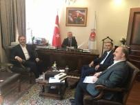 ADALET BAKANLıĞı - Başkan Şahin'den Ankara'da Ziyaretler