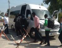 TERMAL KAMERA - Çalılıkların Arkasına Saklanan 57 Suriyeli Yakalandı