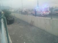 YıLDıRıM BEYAZıT - Direksiyon Hakimiyeti Kaybolan Araç Kanala Uçtu Açıklaması 1 Yaralı