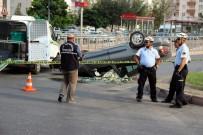 AŞIK VEYSEL - İki Otomobil Çarpıştı Açıklaması 1 Ölü, 1 Yaralı