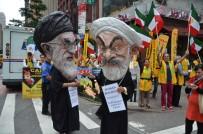 İRANLıLAR - İran Cumhurbaşkanı Ruhani ABD'de Protesto Edildi