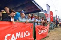 MEHMET MÜEZZİNOĞLU - İznik'te Motokros Yarışları Nefes Kesti