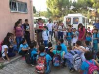 KıZıLAĞAÇ - Jandarma Okul Servis Denetimleri Başladı