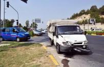 ÇOLAKLı - Manavgat'ta Trafik Kazası Açıklaması 1 Yaralı