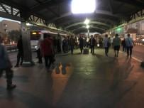 TOPLU TAŞIMA ARACI - Metrobüs Duraklarında Okul Yoğunluğu Erken Saatlerde Başladı