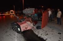 DEVLET BAHÇELİ - Niksar'da Traktör Devrildi Açıklaması 1 Yaralı