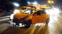 İLK MÜDAHALE - TEM Otoyolunda Zincirleme Kaza Açıklaması 5 Yaralı