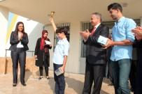 SİVİL POLİS - Şehit Babasının Adı Verilen Okulda, İlk Ders Zilini Oğlu Çaldı