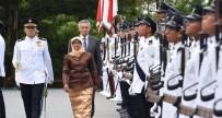 YEMİN TÖRENİ - Singapur'un ilk kadın Cumhurbaşkanı