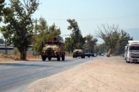 ASKERİ PERSONEL - Sınıra Askeri Sevkıyat Sürüyor