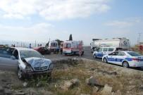 BEBEK - Tekirdağ'da Trafik Kazası Açıklaması 5 Yaralı