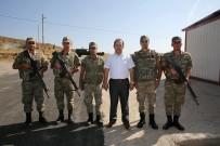 KONTROL NOKTASI - Vali Ali Hamza Pehlivan, Jandarma Kontrol Noktasını Ziyaret Etti