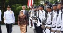 YEMİN TÖRENİ - Yacob, Singapur'un İlk Kadın Cumhurbaşkanı Oldu