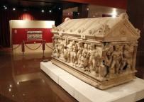 İNGILIZCE - Antalya Müzesi'ndeki Yerini Alan Herakles Lahdi Açılışı Bekliyor